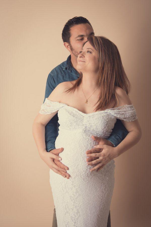 Séance photo grossesse : Elodie et Guillaume