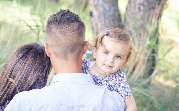 Emilie, Simon et leur fille
