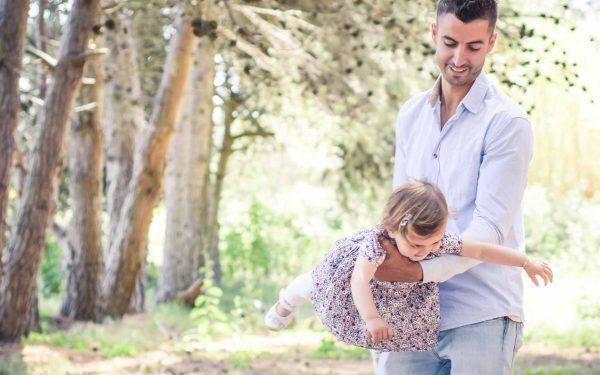 Simon et sa fille