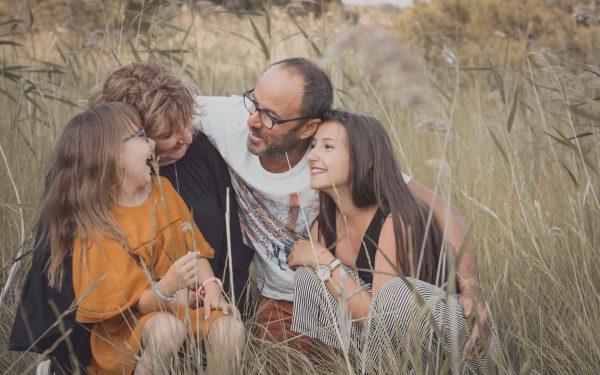 Noëllie, Victoire et leur parents