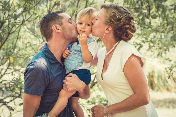 Mathis et ses parents