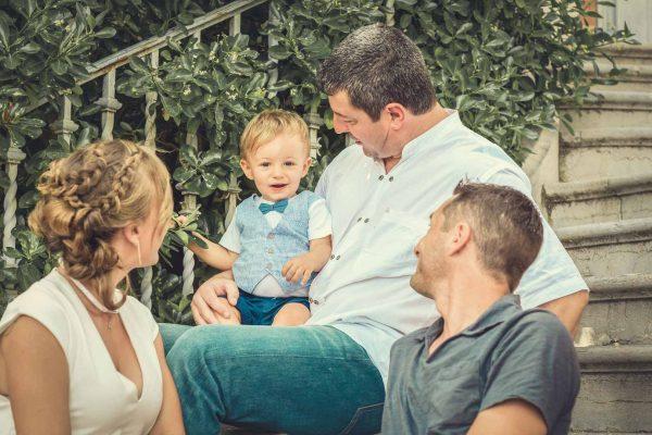 Mathis et sa famille