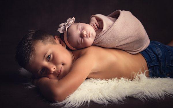Calie et son grand frère