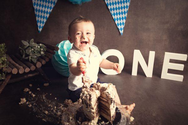 Simon - Premier anniversaire